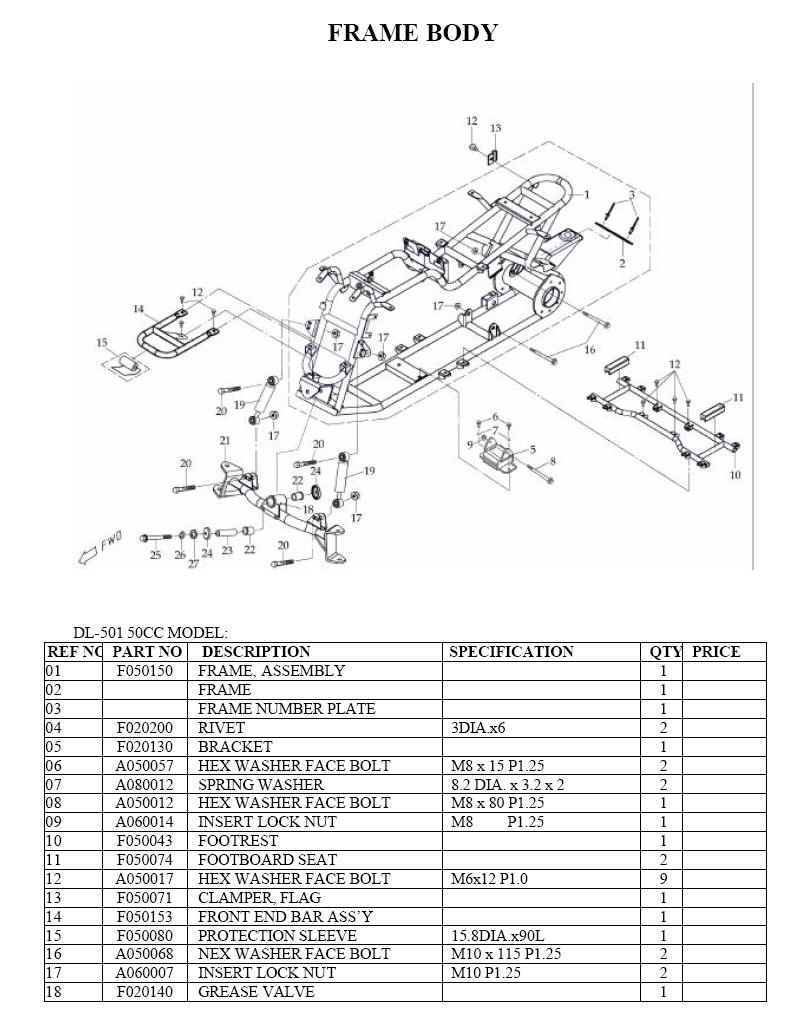 page_118 dinli dino parts manual dl501 49cc atv 2003 Dinli 90Cc Oil Tank at edmiracle.co